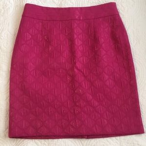 Banana Republic Pink Pencil Skirt